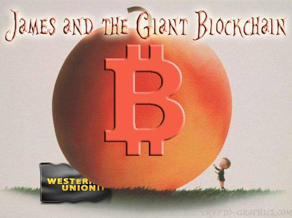 James and the Giant Blockchain