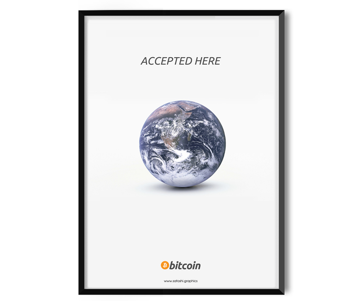 Accept Here - Bitcoin